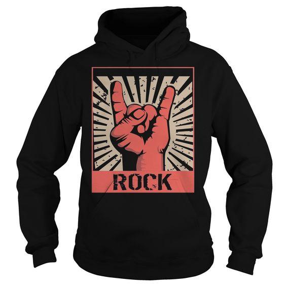 vintage Rock Hoodie FD01