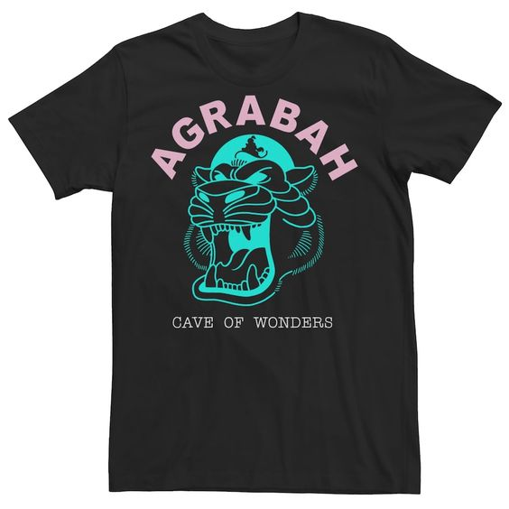 Aladdin Agrabah Neon Tshirt EL2N