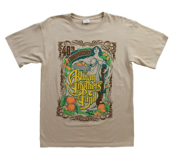 Allman Brothers Band T-Shirt FD26N