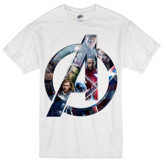 Avengers-Logo-T-shirt N22AR
