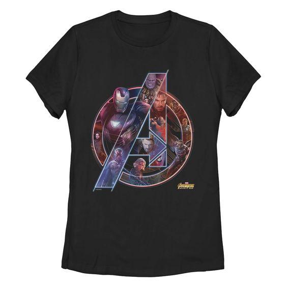 Avengers Neon Tshirt EL2N