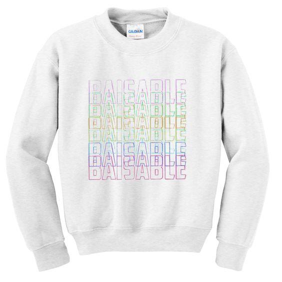 Baisable sweatshirt N22AI