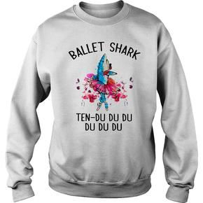 Ballet shark ten Sweatshirt AI26N
