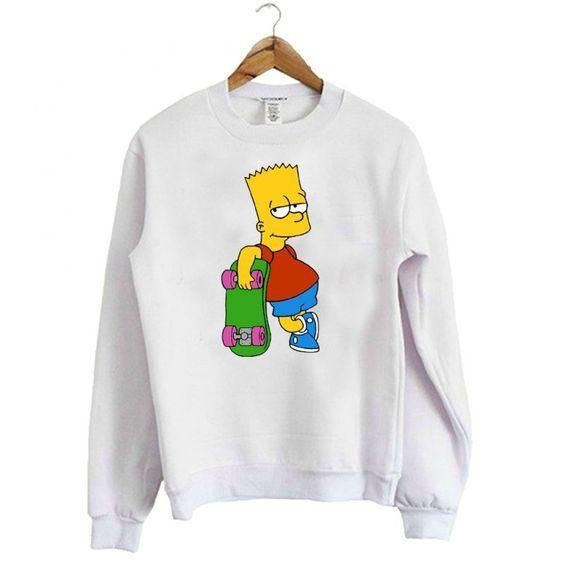 Bart The Simpsons Sweatshirt AI26N
