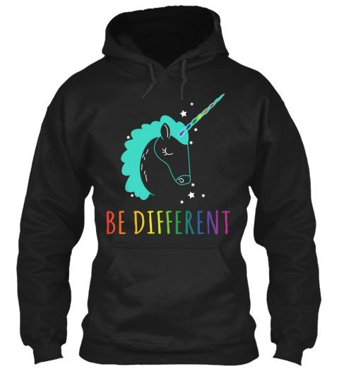 Be Different Hoodie ER29N