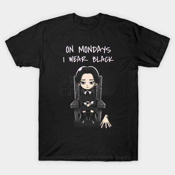 Black Mondays T-Shirt SR26N