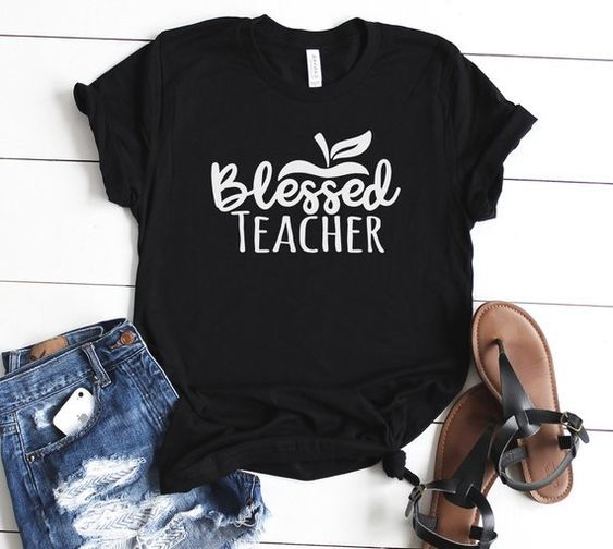 Blessed Teacher T Shirt EL6N