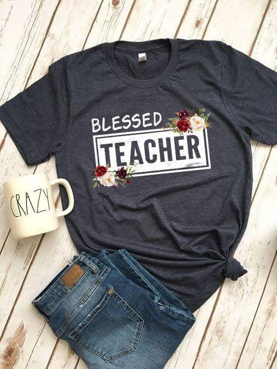 Blessed Women Teacher Tshirt EL6N