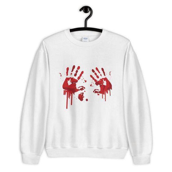 Bloody Hands Sweatshirt N25AZ
