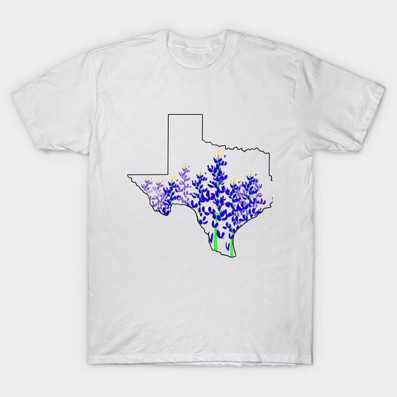 Bluebonnets texas Classic T-Shirt FD4N