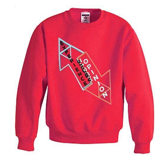 Experience above opinion sweatshirt N22AI