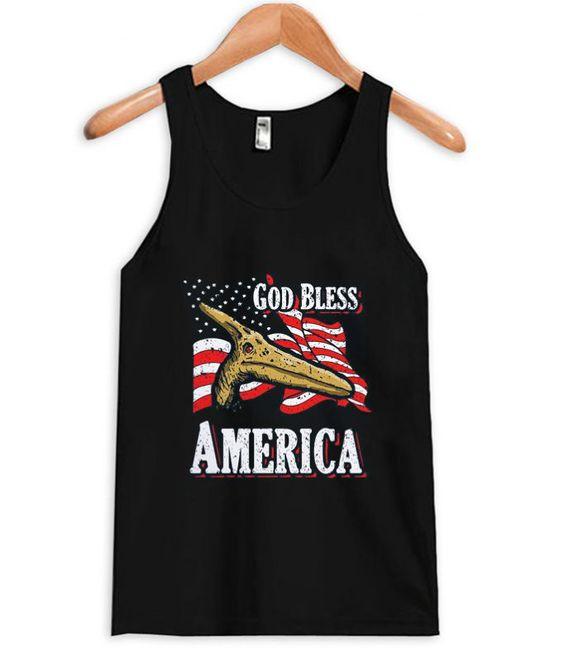 God Bless America Tank Top EM29N