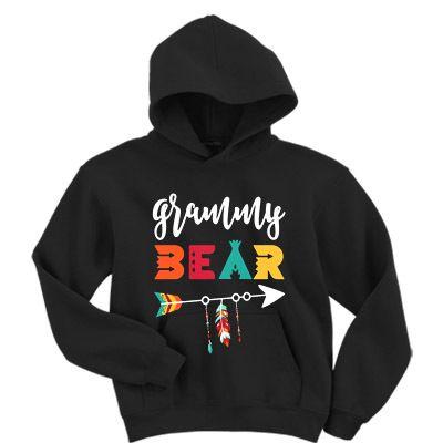 Grammy Bear Hoodie EM26N