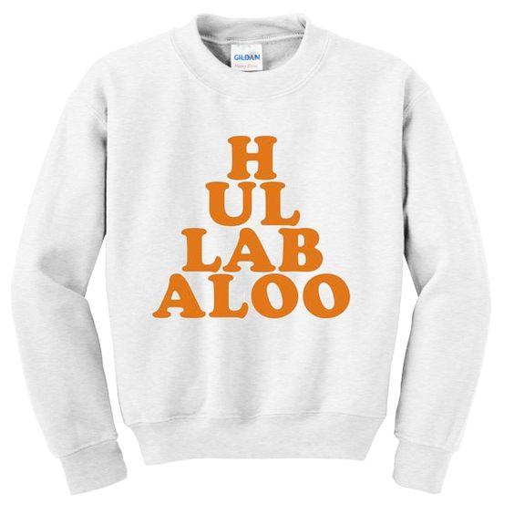 Hullabaloo sweatshirt N22AI