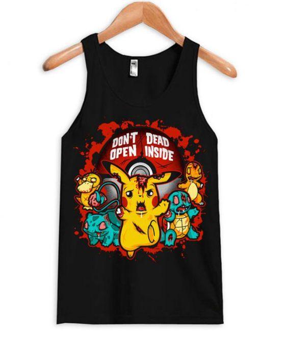 Inside Pikachu Tanktop ER28N