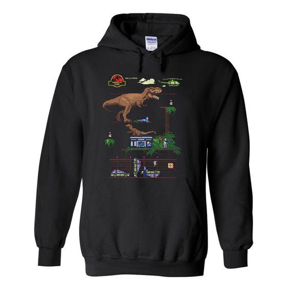 Jurassic Park Dino Hoodie AZ22N