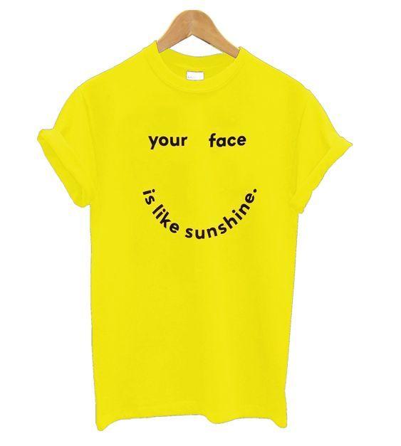 Like My Sunshine T-Shirt AZ19N