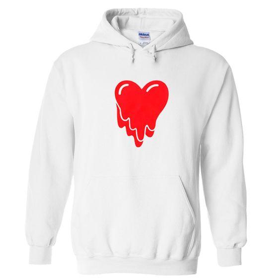 Melting Heart Hoodie ER29N