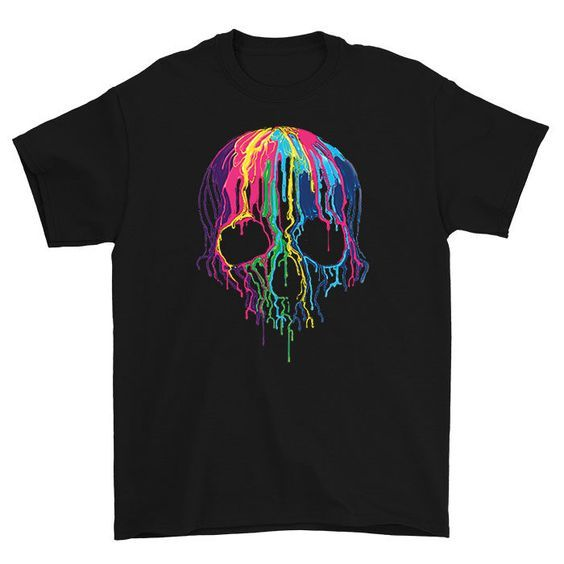 Melting Skull Tshirt EL2N