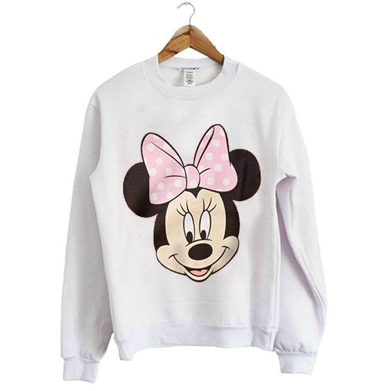 Minnie Mouse Girls Sweatshirt N14VL