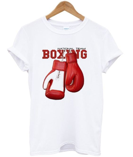 National Team Boxing T-Shirt AZ22N
