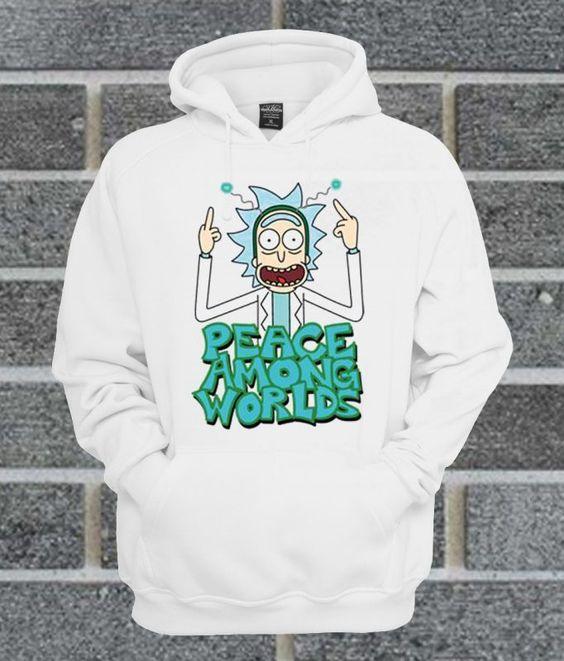 PEACE AMONG Hoodie ER29N