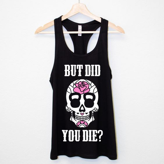 Skull Workout Tank Top EM29N