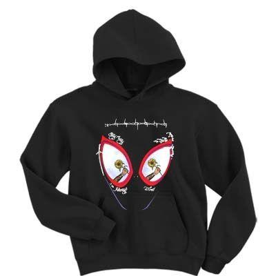 Spider Man Mask Hoodie EM26N