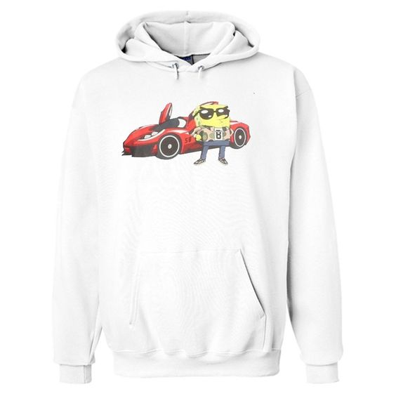 SpongeBob Red Car Hoodie ER28N