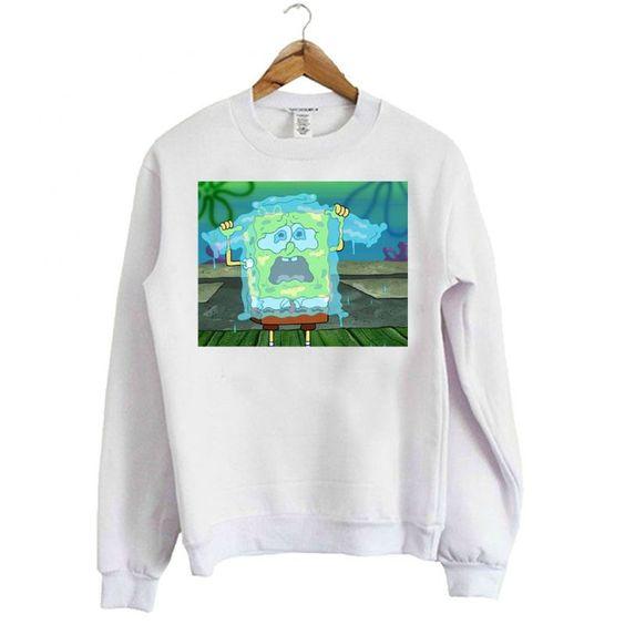 Spongebob Tear Sweatshirt N14VL