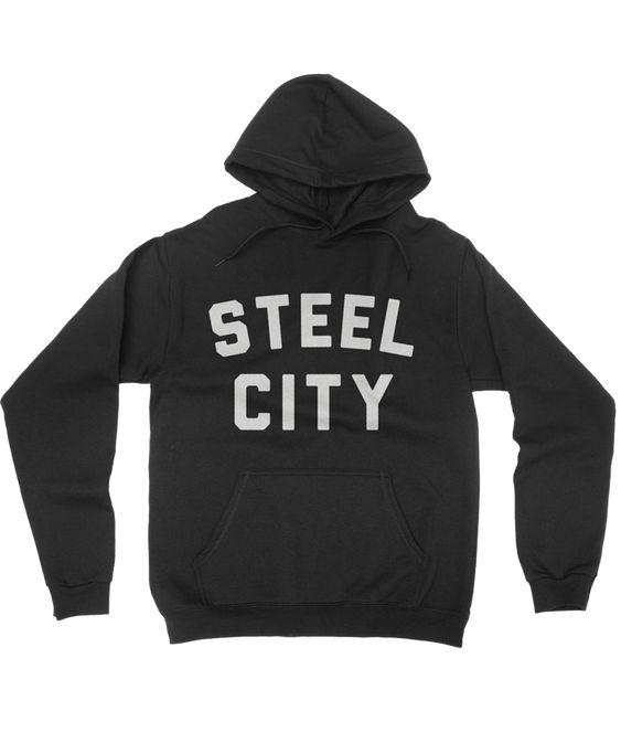 Steel City Pullover hoodie N22RS