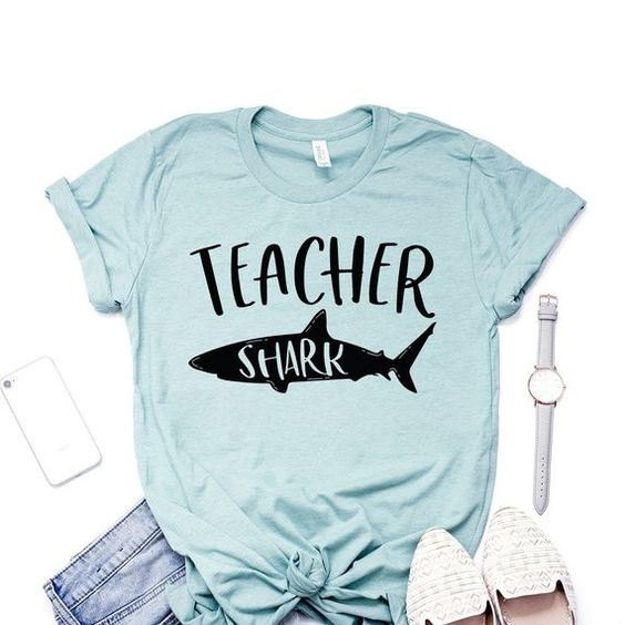 Teacher Shark Tshirt EL6N
