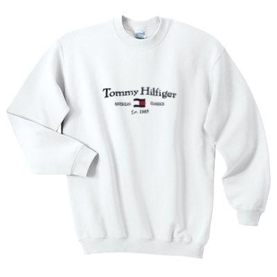 Tommy Hilfiger vintage sweatshirt AI26N