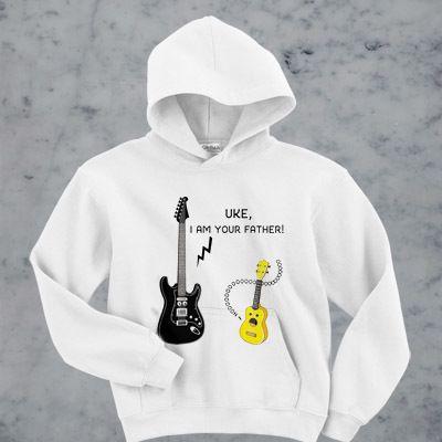 Uke I am your father hoodie AI30N