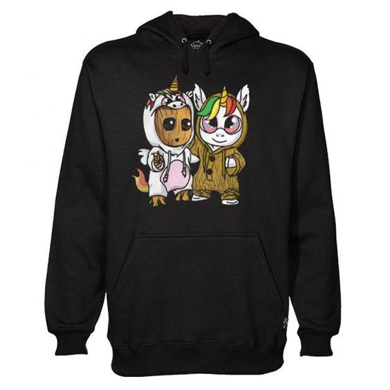 Unicorn Eyes Baby Hoodie ER28N