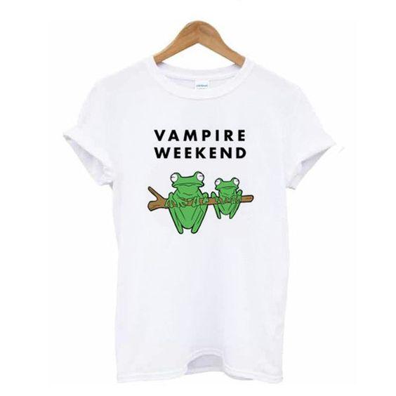 Vampire Weekend Frog T-Shirt N19AZ