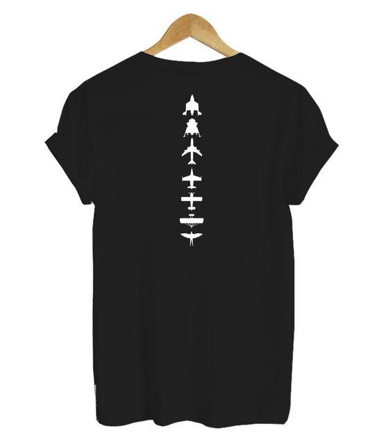 Virgin Galactic Back T- shirt ER28N