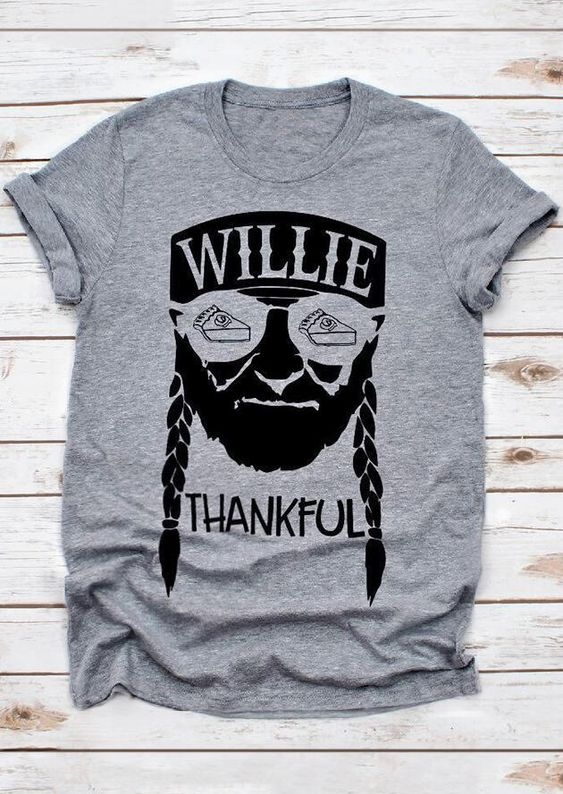 Willie Thankful T-Shirt FD22N