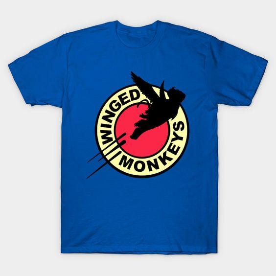 Winged monkeys T-Shirt SR26N