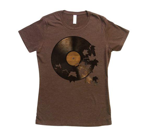 Womens Autumn Song Tshirt FD26N