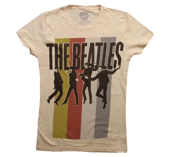 Womens The Beatles Tshirt FD26N
