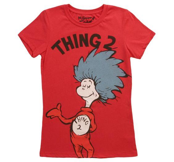 Womens Thing 2 T-Shirt N27HN
