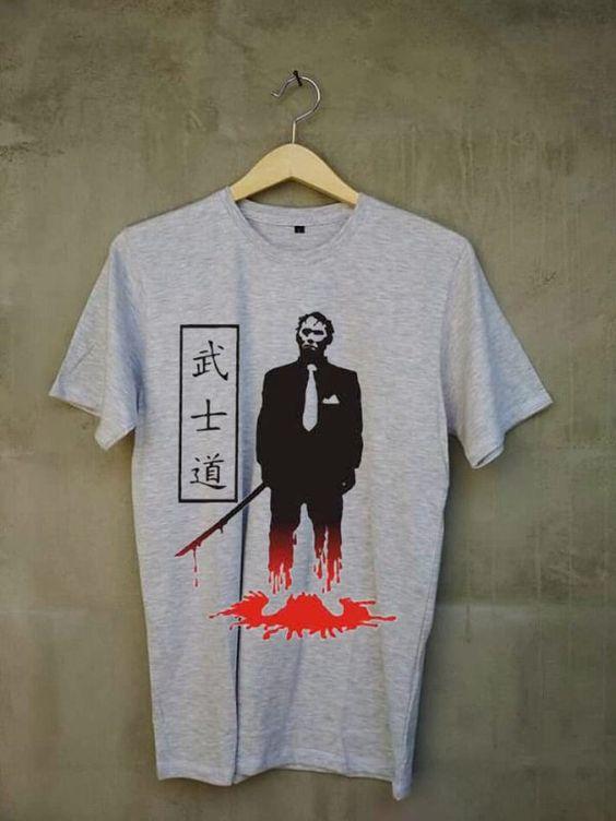 Yakuza samurai T-shirt ER29N