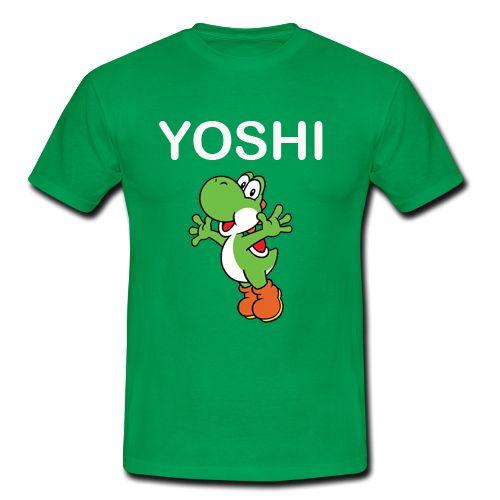 Yoshi Happy T shirt N8FD