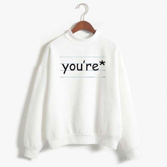 You're T-shirt AI30N