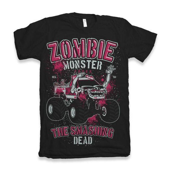 Zombie Monster T-Shirt FR5N