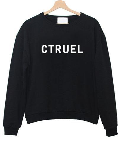 ctruel sweatshirt AI26N