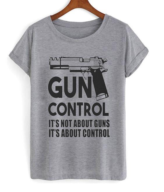 gun control t-shirt N21EV