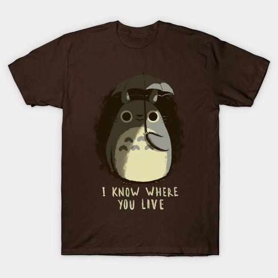 where you live T-Shirt N28PT
