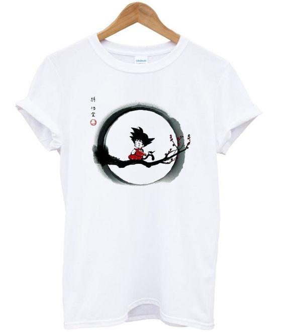 young goku dragon ball Tshirt N12EL